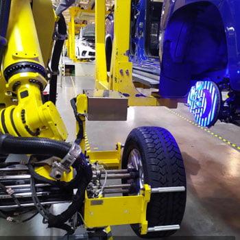 Automated Wheel Installation