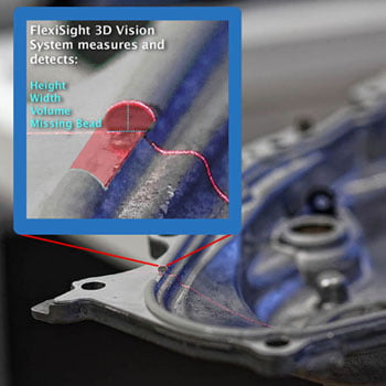 3d vision bead inspection