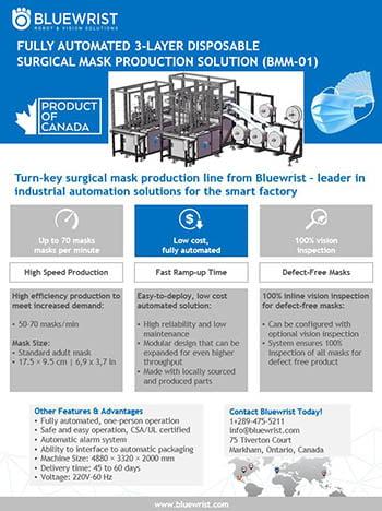 bluewrist-mask-manufacturing-solution-brochure