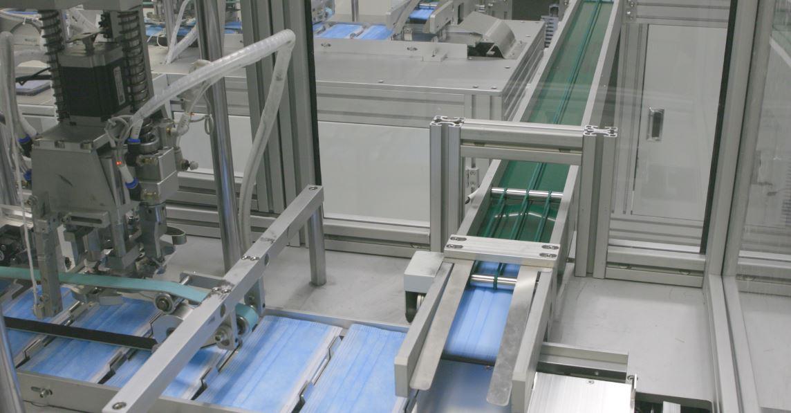bluewrist-mask-production-line