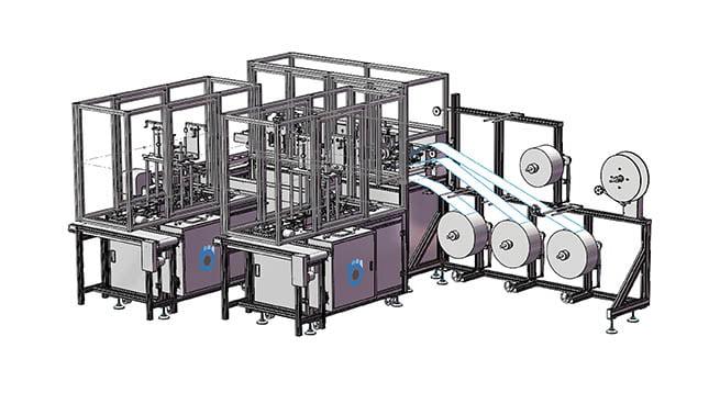 bluewrist-mask-production-machine