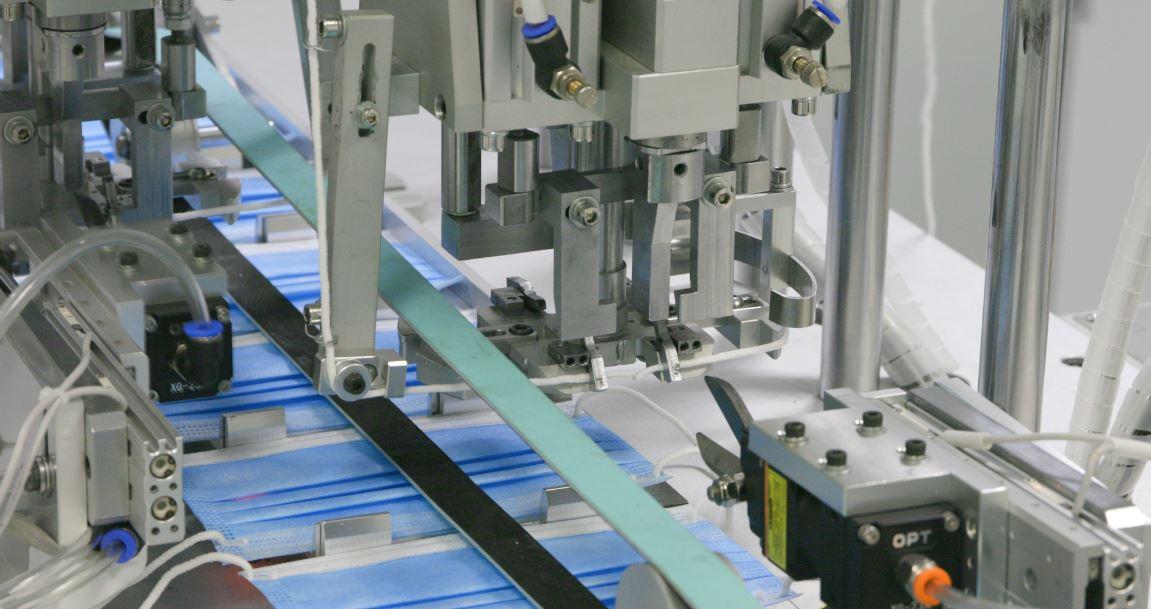 bluewrist-mask-production-welding
